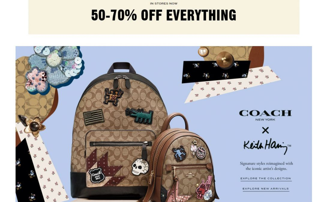 Coach Outlet: 50-70% Off Everything