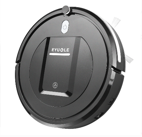 Amazon: $41.80 – EYUGLE Robotic Vacuum Cleaner