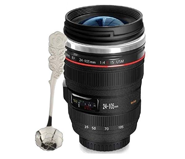 Amazon: $9.66 – 12 oz. Camera Lens Coffee Mug w/ Spoon