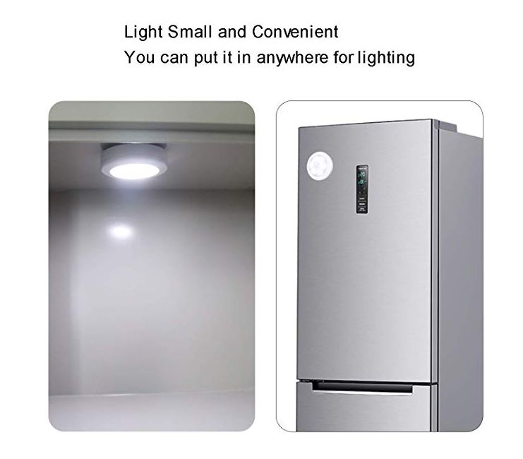 Amazon: $5.99 – 3PK Motion Sensor Lights
