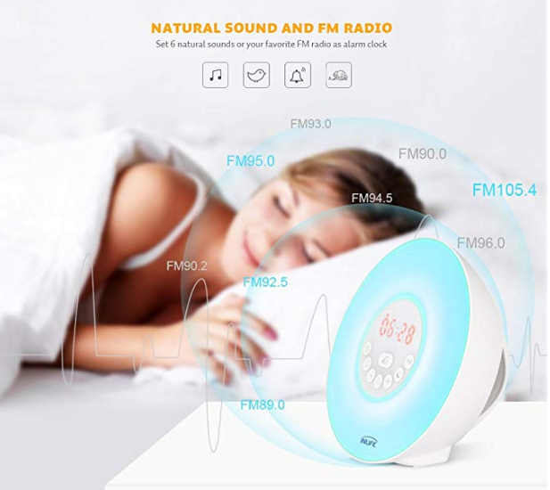 Amazon: $6.48 – INLIFE Alarm Clock
