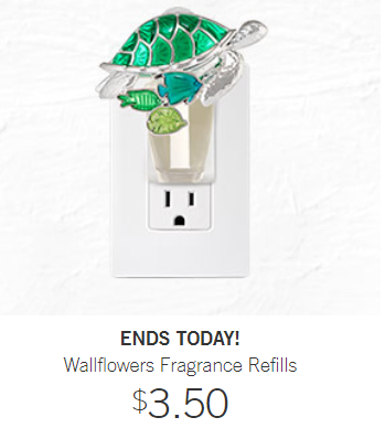 Bath and Body Works: Wallflower Refills – $3.50