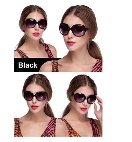 Amazon: $1.90 – Blueis New Women's Retro Vintage Style Sunglasses