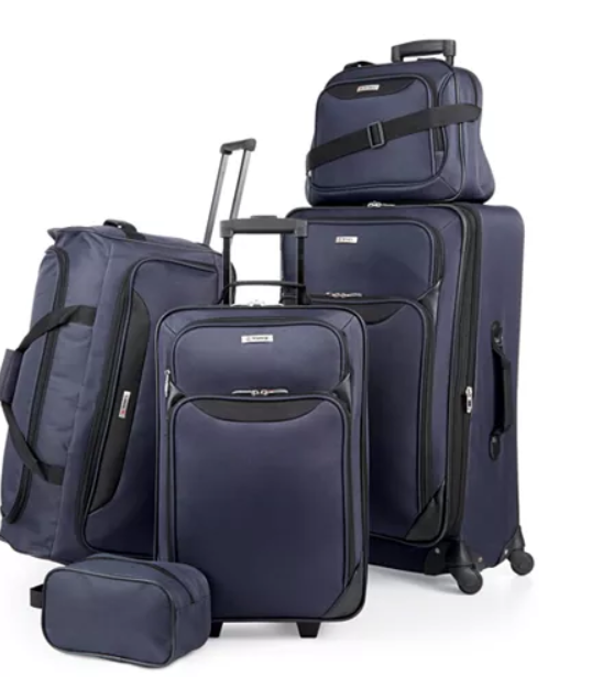 Macy's: $59.99 – Springfield III 5 Piece Luggage Set