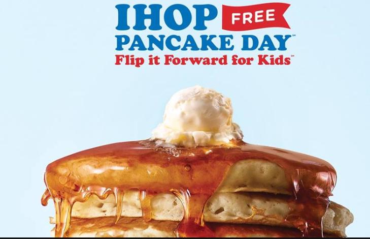 IHOP Free Pancake Day 2019