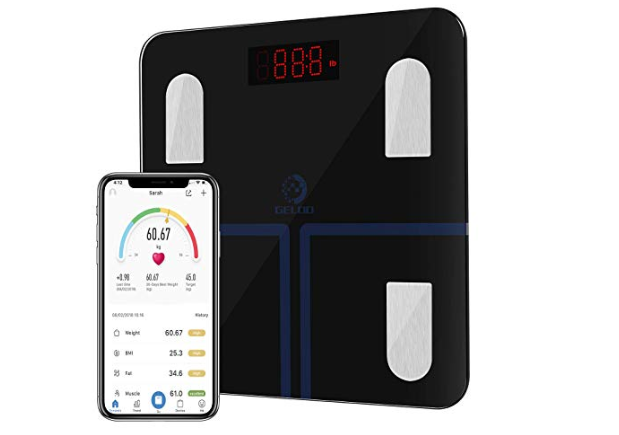 Amazon: GELOO Smart Bluetooth Body Fat Scale – $7.99