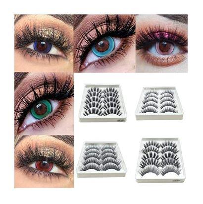Amazon: $3.23 – Lome123 Eye Lashes (5 pair)