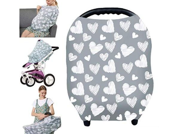 Amazon: Nursing Cover – Breastfeeding Cover Carseat Canopy for Baby Infant – $5.49