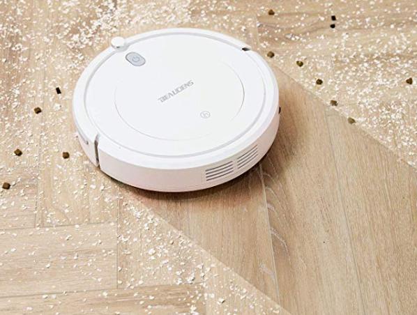 Amazon: $40.50 – Robot Vacuum Cleaner with Slim Design