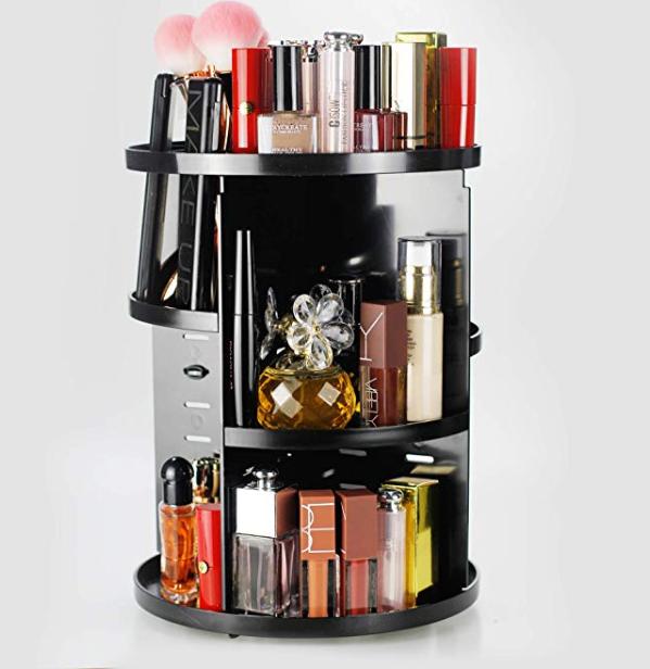 Amazon: Unique Home 360 Rotating Makeup Organizer – $11.49