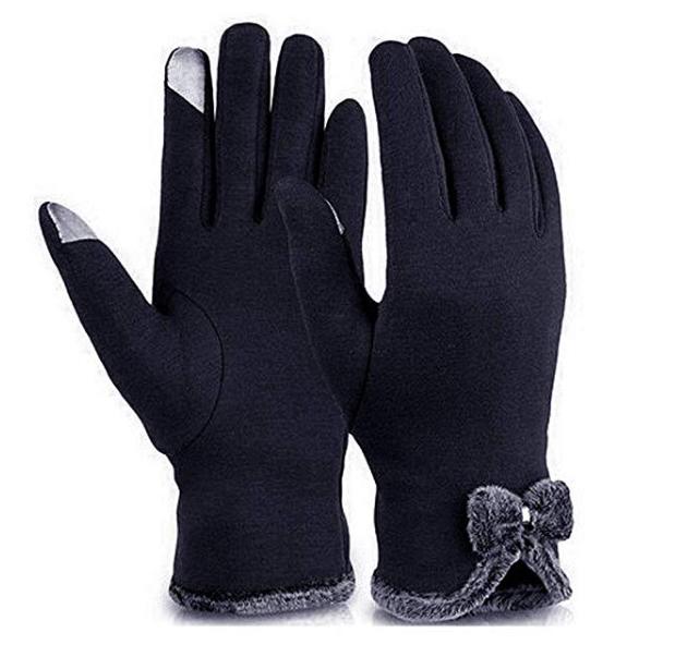 Amazon: Kikole Women's Touch Screen Phone Gloves – $3.59