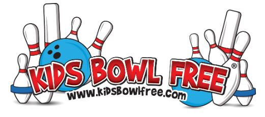 Kids Bowl Free – Summer 2019