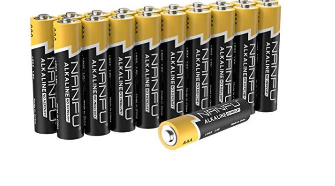 Amazon: NANFU No Leakage Long Lasting AAA 20 Batteries – $4.49