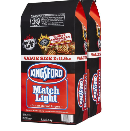Lowe's: Kingsford Match Light 2-Pack 11.6-lb Charcoal Briquettes -$3.22