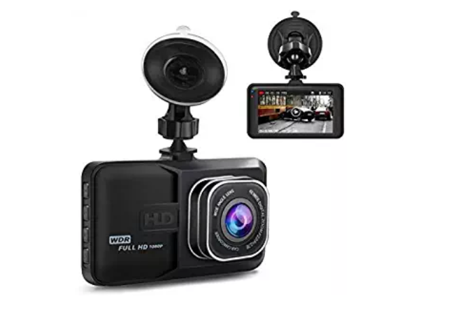 Amazon: Dash Cam,Dashboard Camera 1080P HD,Ananteke Driving Video Recorder with 3 Inch LCD, Parking Monitoring,Motion Detection, G-Sensor, LED Compensation – $10.50