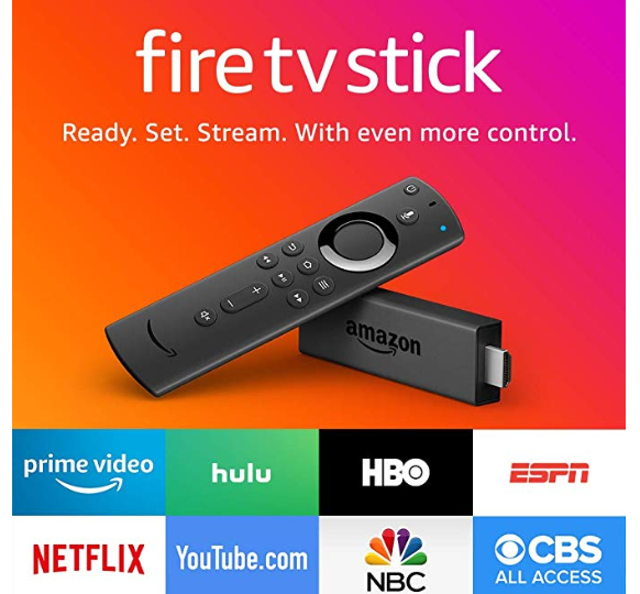 Amazon: Fire TV Stick with Alexa Voice Remote, streaming media player – $29.99