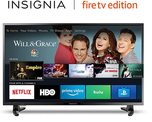 Amazon: Insignia NS-39DF510NA19 39-inch 1080p Full HD Smart LED TV- Fire TV Edition – $129.99