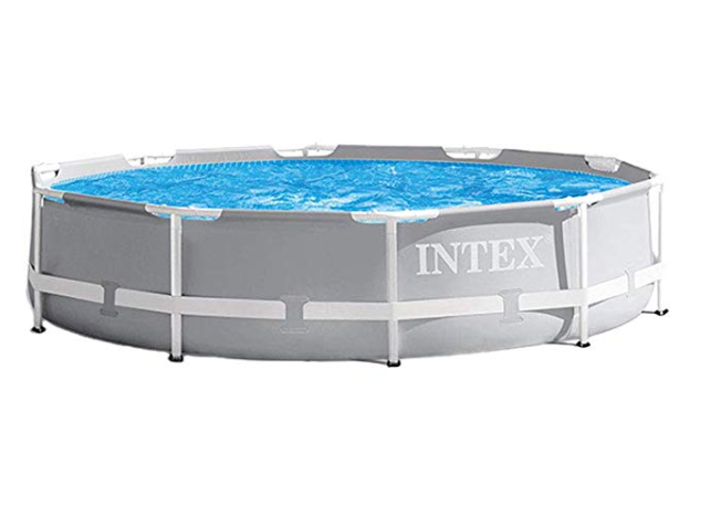Amazon: Intex 10ft X 30in Prism Frame Pool Set with Filter Pump – $71.03