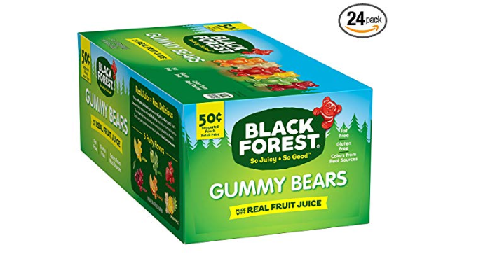 Amazon: Black Forest Gummy Bears Candy, 1.5-Ounce Bag (Pack of 24) – $6.48