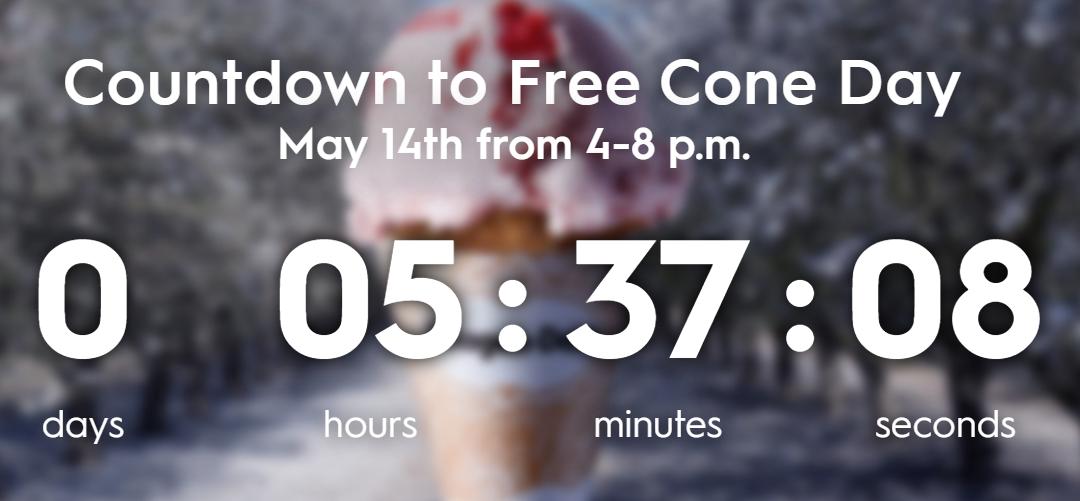 Celebrate Free Cone Day with Häagen-Dazs®!