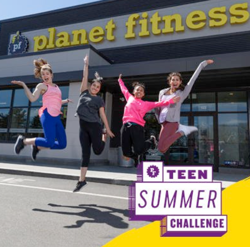 Planet Fitness Free Teen Summer Challenge
