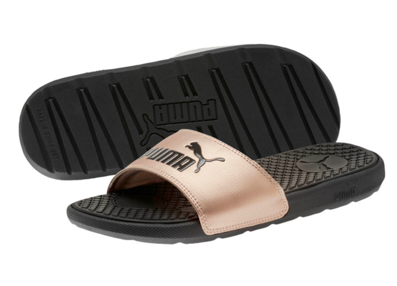 Puma: Cool Cat Metallic Women's Slides -$11.99