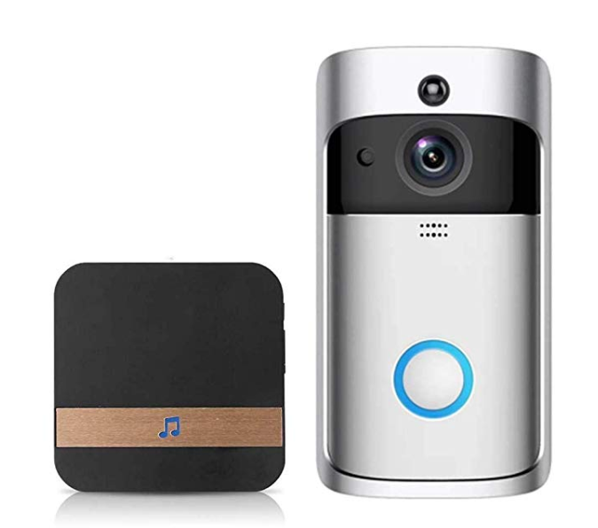 Amazon: Queind Video Wireless Doorbell WiFi HD Home Security M3 Low Power with Wireless Ding-dong Kits – $39.99