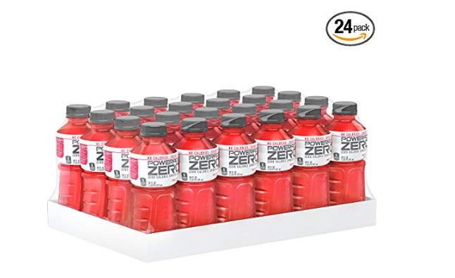 Amazon: POWERADE ZERO Fruit Punch Sports Drink, Family Pack, 20 fl oz, 24 Pack – $11.94