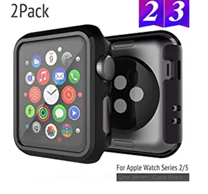 Amazon: 2 Pack Bumper Compatible with Apple Watch Case – $3.99