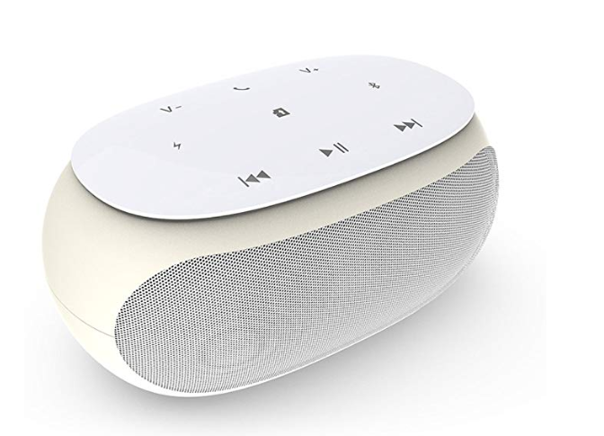Amazon: Surround Sound Bluetooth Speakers,Phantom Touch Wireless Mobile Bluetooth Loudspeaker,Built-in Mic Outdoor Party Wireless Speaker with 12H Playtime for Phones and Computers (HD Sound,White) – $6.99