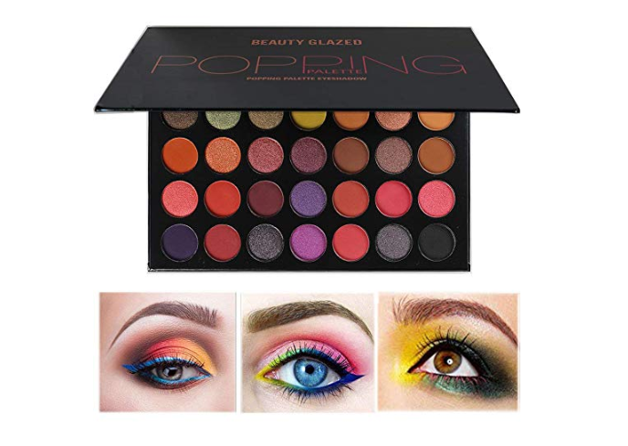 Amazon: Beauty Glazed Matte and Shimmer Eye Makeup Palette 35 Colors – $5.94