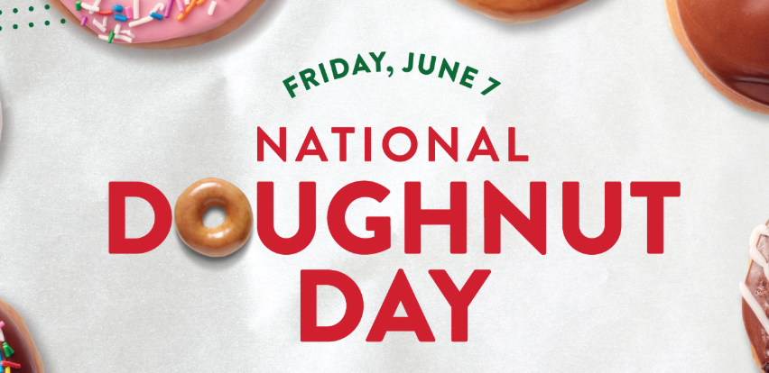 Free Doughnut Day at Krispy Kreme