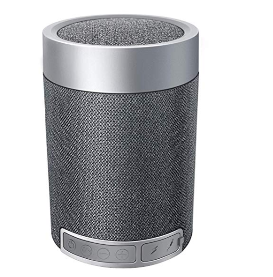Amazon: Portable Bluetooth Speakers BS1, Mini Bluetooth Wireless Speakers 4.2+EDR, Transmission 40ft, Built-in MIC Hands-Free Calling, 8 Hour Playtime for ipad Cellphone Tablets Desktop Laptop – $5.45