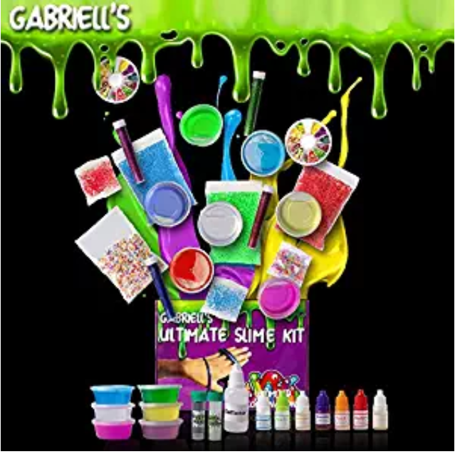Amazon: Ultimate Slime Kit Supplies with Magnet Powder,Glow in the dark Powder, 7 Different scents and over 75 different slime accessories – $4.95