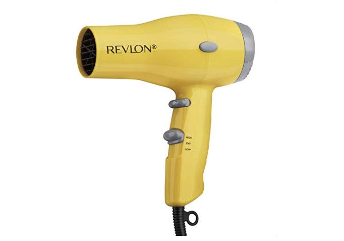 Amazon: Revlon 1875W Compact & Lightweight IONIC Hair Dryer, Yellow – $7.69