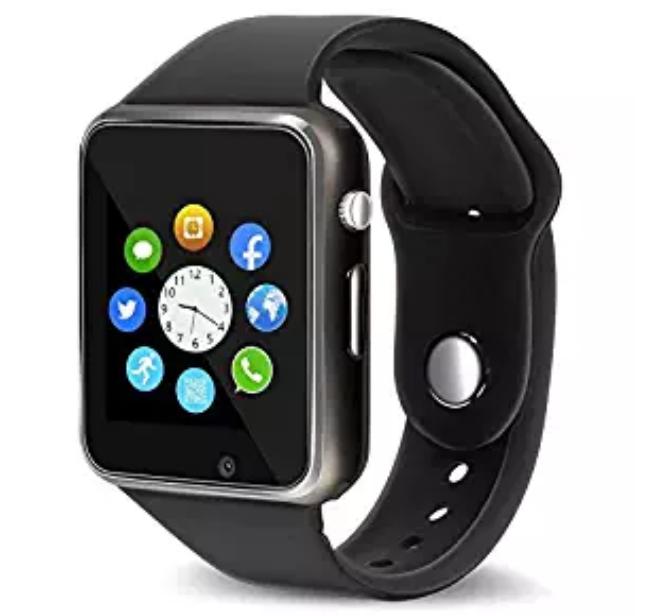 Amazon: Smart Watch – Aeifond Touch Screen Sport Smart Wrist Watch Bluetooth Smartwatch Fitness Tracker Camera Pedometer SIM TF Card Slot Compatible Samsung Android iPhone iOS Kids Women Men (Black) – $12.99