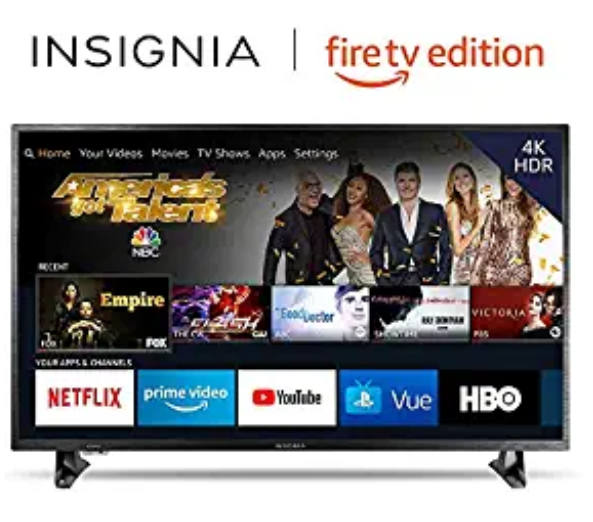 Amazon: Insignia NS-50DF710NA19 50-inch 4K Ultra HD Smart LED TV HDR – Fire TV Edition – $249