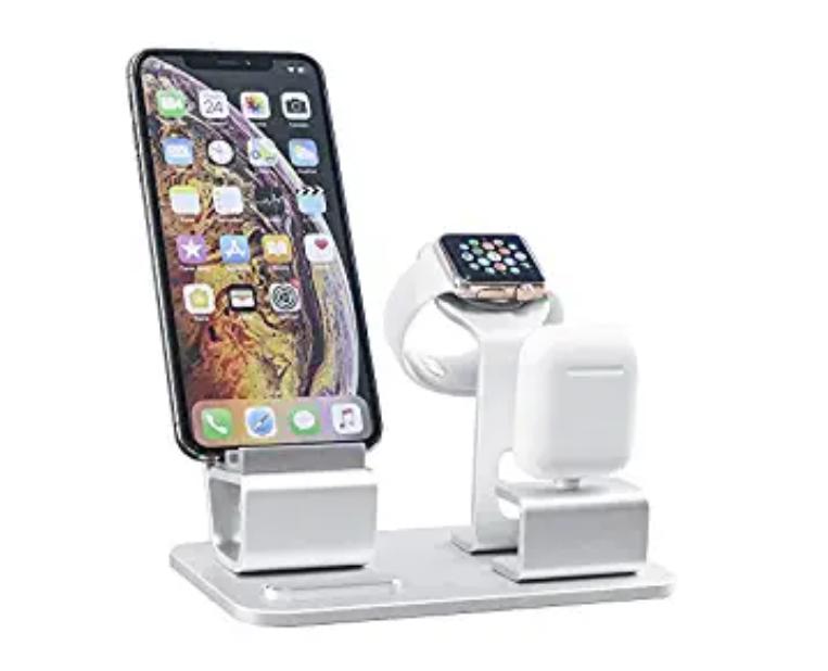 Amazon: GRANDIX 3 in One Charging Dock for Apple Series – $10