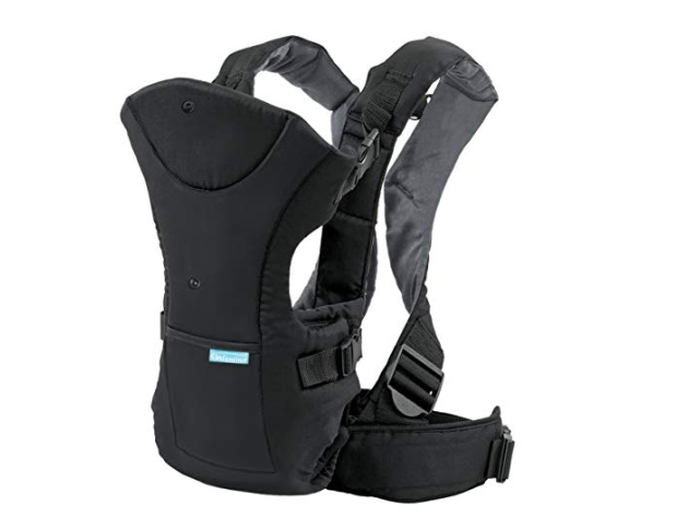 Amazon: Infantino Flip Front 2 Back Carrier, Black – $11.89