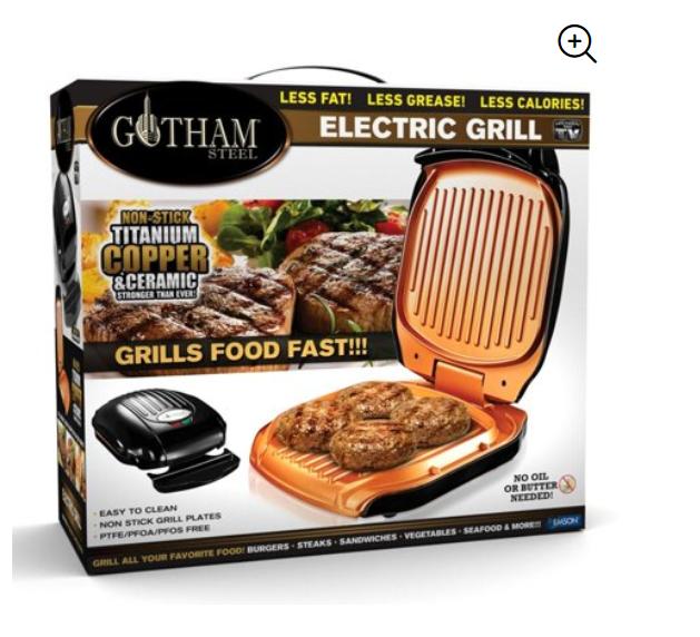Walmart: Gotham Steel Low Fat Multipurpose Grill – $10