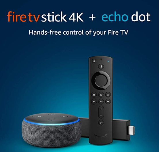 Amazon: Fire TV Stick 4K bundle with Echo Dot (3rd Gen) – $21.99