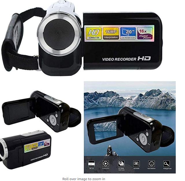 Amazon: Oguine 2-inch Screen 16 Million Pixel Digital Camera Mini DV Camera Camcorders – $19.98