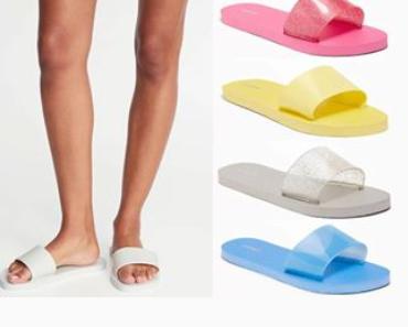 Old Navy: Jelly Slide Flip-Flops for Women -$2