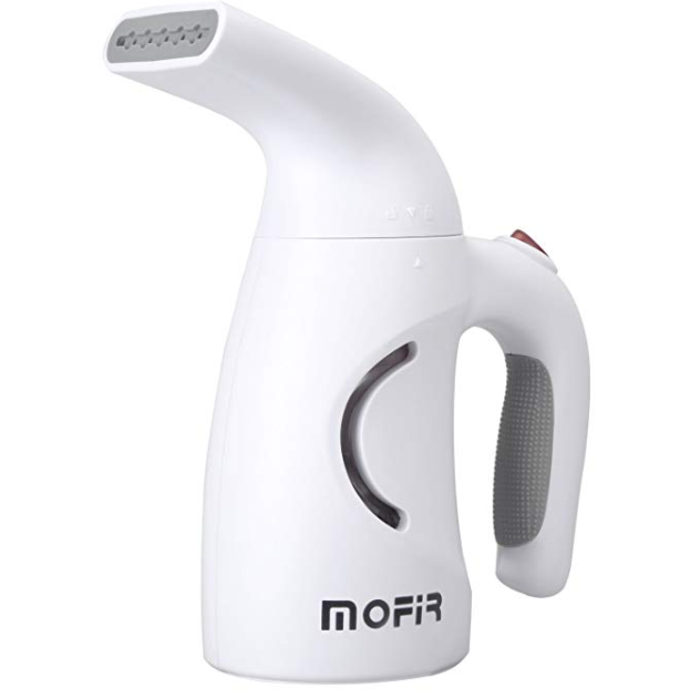 Amazon: MOFIR Steamer for Clothes, Portable Handheld Clothes Steamer Safety Fabric Steamer Fast-Heat Up – $9.99