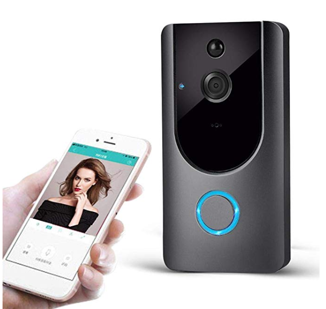 Amazon: Halffle M2 Wireless Visual Smart Doorbell Alarm WiFi Mobile Phone Remote Monitoring Kits – $33.75