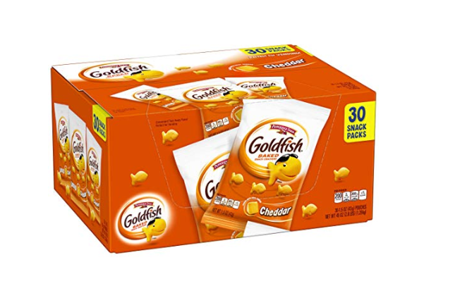 Amazon: Pepperidge Farm Goldfish Cheddar Crackers, 45 Ounce – $6.38