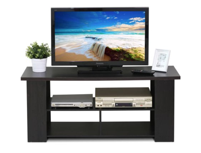 Walmart: Furinno JAYA Modern TV Stand for TV Up To 50″, Espresso – $40.97