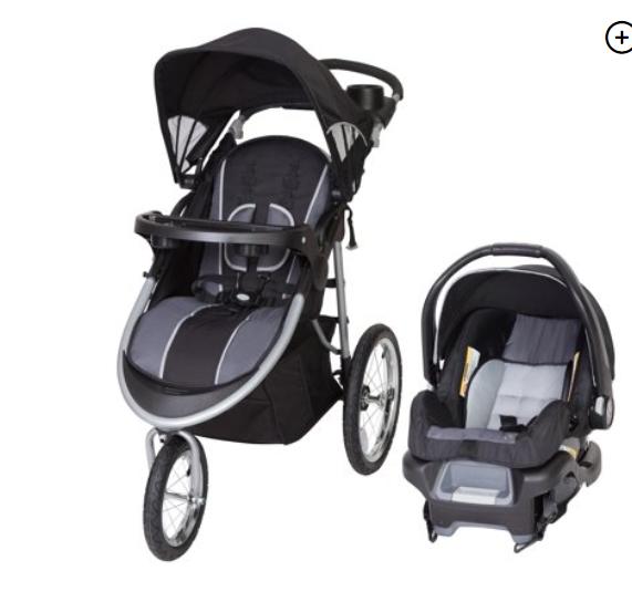 Walmart: Baby Trend Pathway 35 Jogger Travel System-Optic Grey – $104