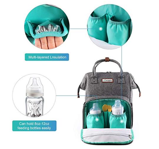 Amazon: Diaper Bag Backpack – $13.99