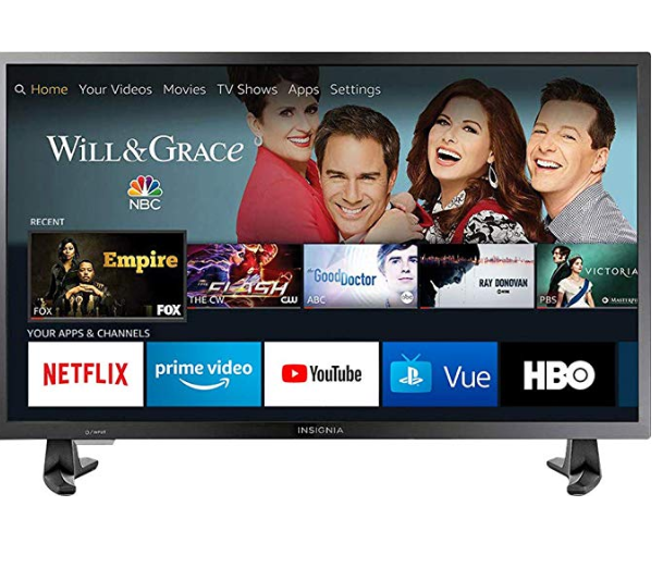 AMAZON: Insignia NS-32DF310NA19 32-inch 720p HD Smart LED TV- Fire TV Edition – $99